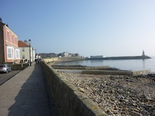 picture of harbour front hartlepool headland uk